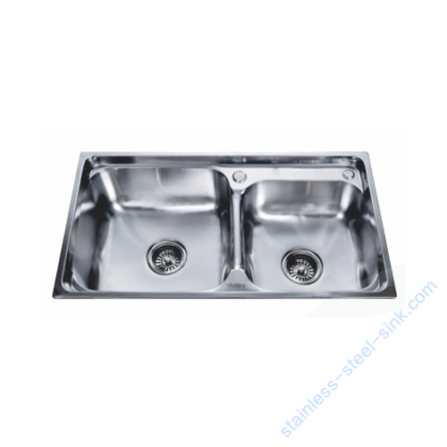 Double Bowl Kitchen Sink WY-7742DB