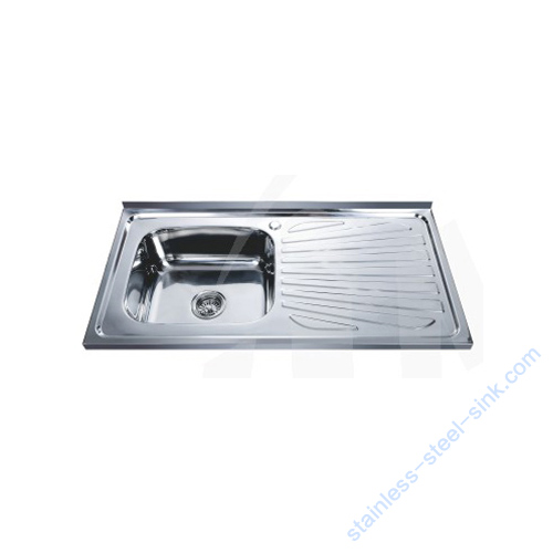 Single Bowl with Drainboard Kitchen Sink WY-10050B