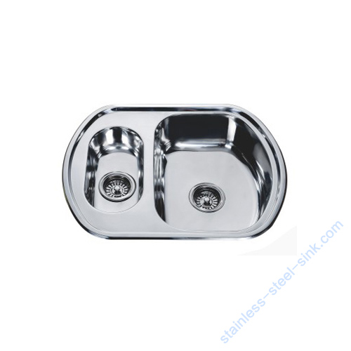 Double Bowl Kitchen Sink WY-6349D
