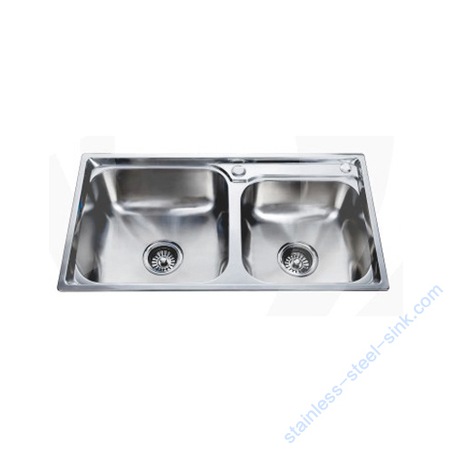 Double Bowl Kitchen Sink WY-7540DA