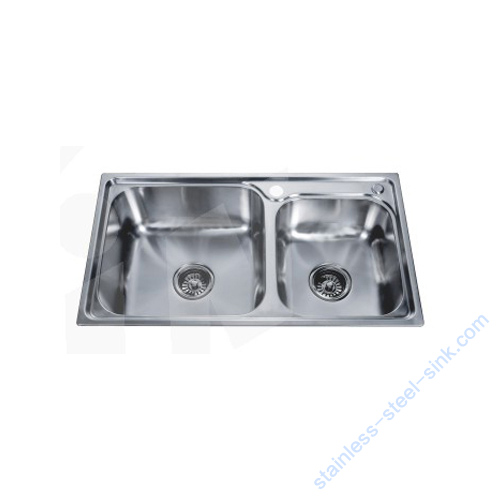 Double Bowl Kitchen Sink WY-7642D