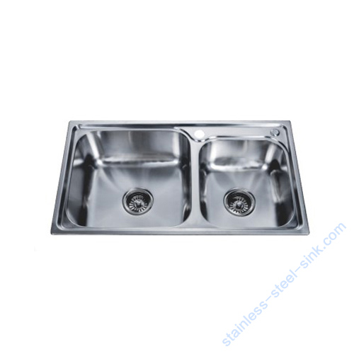 Double Bowl Kitchen Sink WY-7742DA