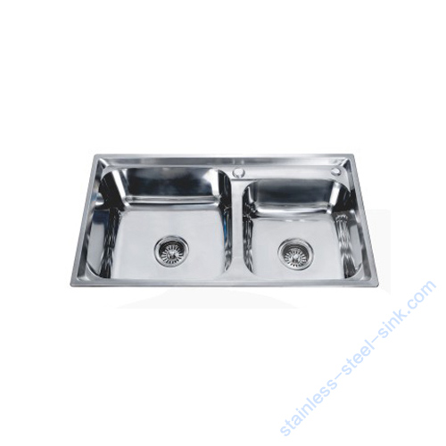 Double  Bowl Kitchen Sink WY-8043DA